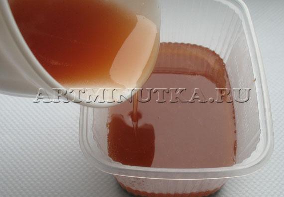 Шаг 15 - заливаем второй слой мыла - фото