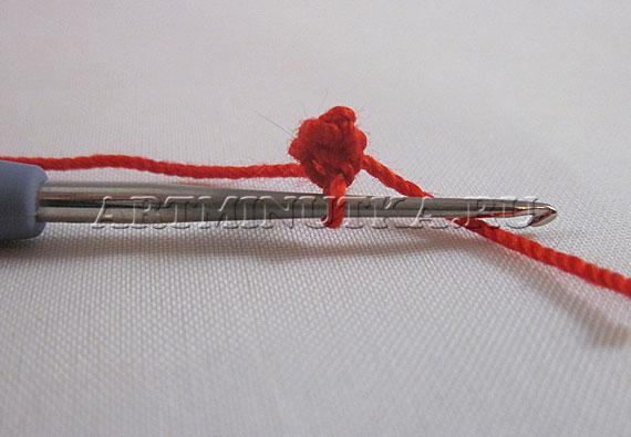 Как обвязать крючком бусину для начинающих